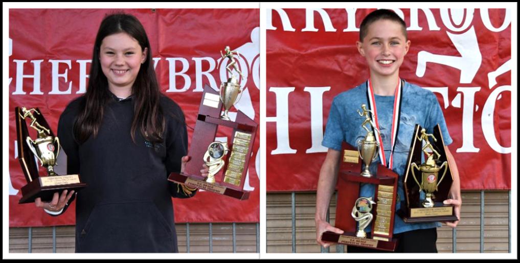 2019/2020 TJ Beale winners Madison Clarke & Harley Grace